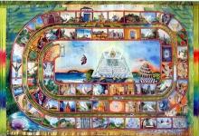 Simbolismo del gioco dell'oca ed il Cammino di Compostela.